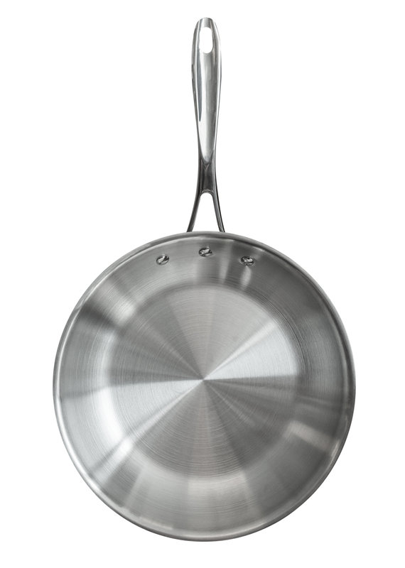 """Stainless Steel Chefs Pans 12.5"""""""