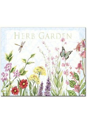 Entertaining Essentials Herb Garden Glass Cutting Board