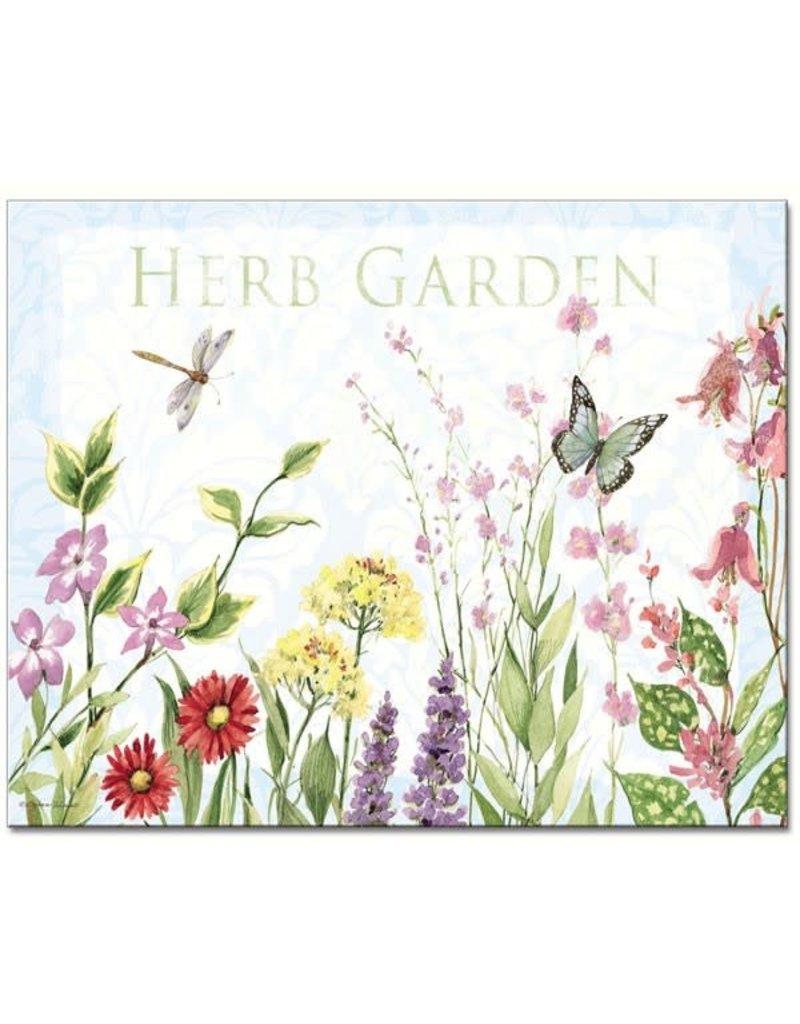 Entertaining Essentials Herb Garden Glass Cutting Board
