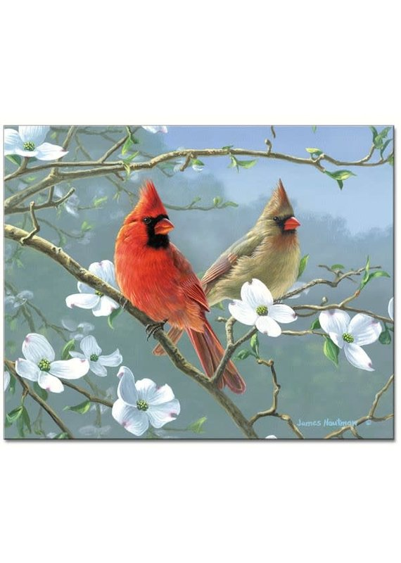 Entertaining Essentials Beautiful Songbirds Glass Cutting Board