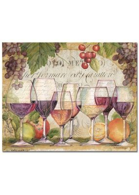 Entertaining Essentials Wine Country Glass Cutting Board