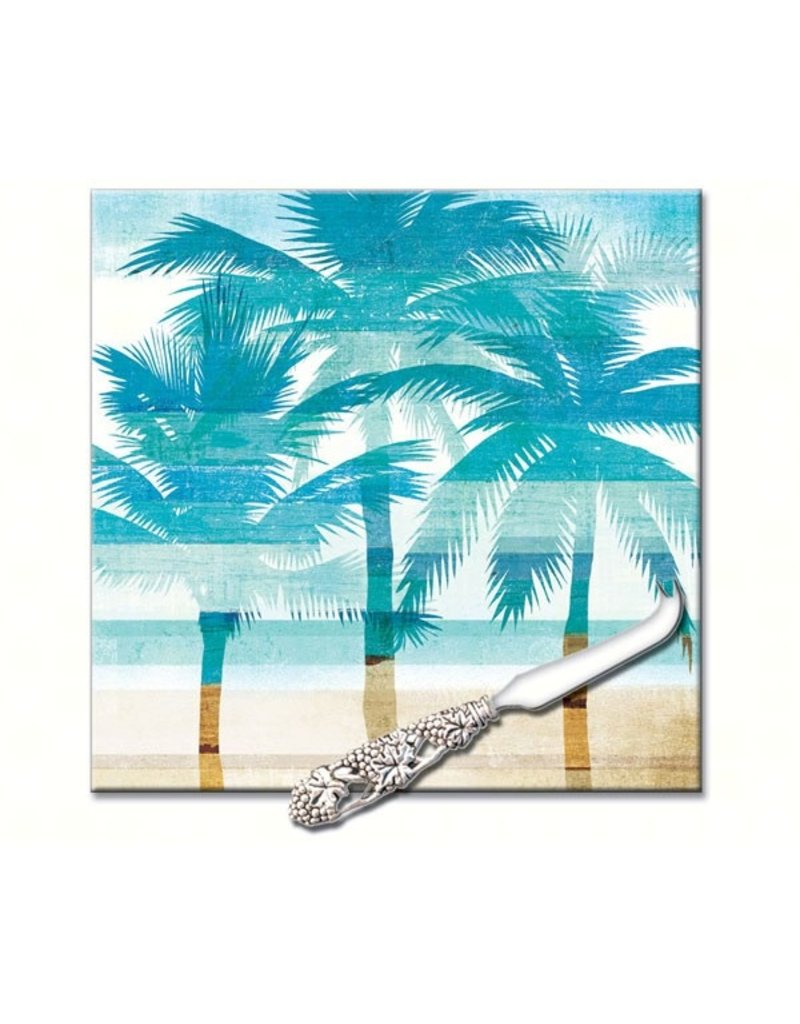 Entertaining Essentials Beachscapes Square Cheese Board