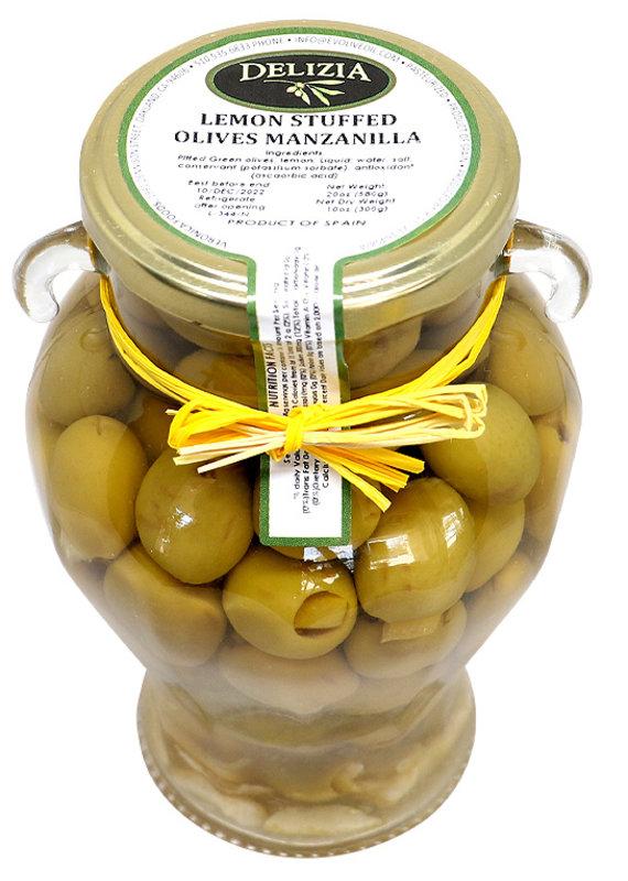Olives Manzanilla Olives Stuffed with Lemon