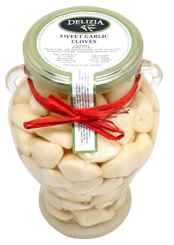 Olives Pickled Sweet Garlic