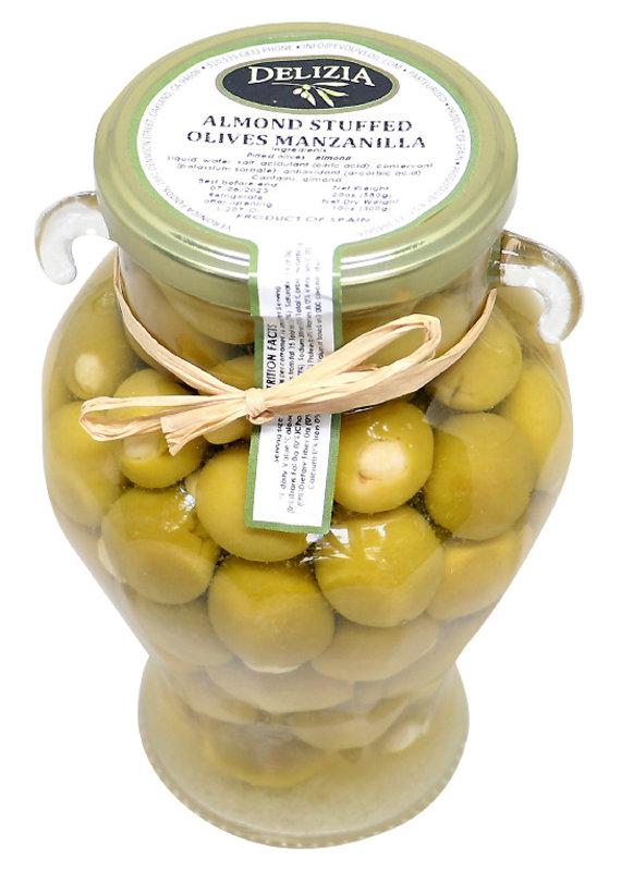 Olives Manzanilla Olive Stuffed with Almond