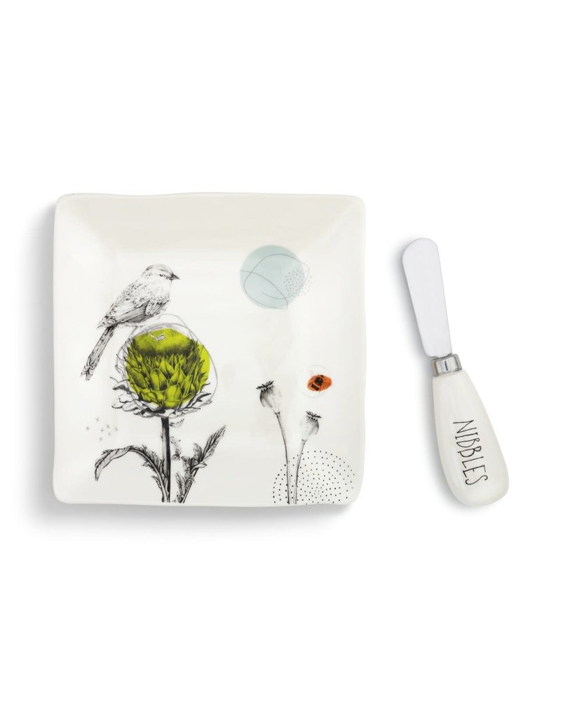 Plate w/ Spreader Set Nibbles