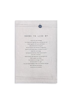 Tea Towels Words to Live By