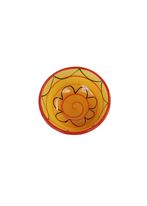 NaturallyMed Ceramic Dipping Bowl 3″ Yellow