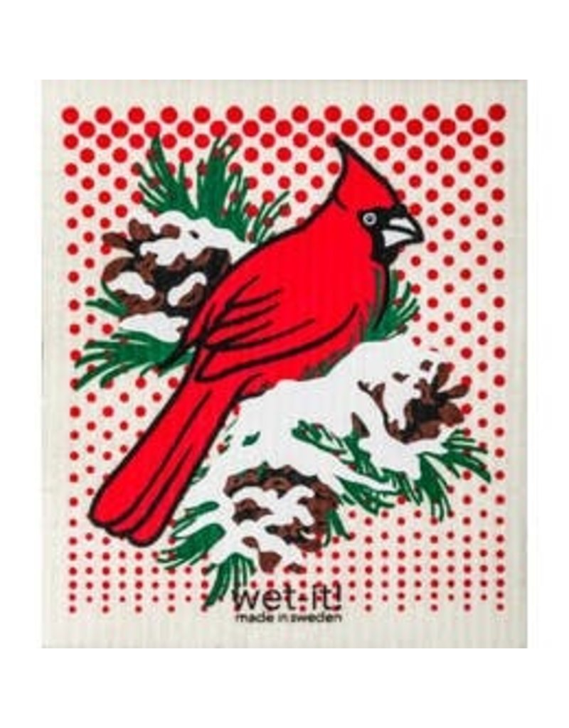 Wet-It Wet It Winter Cardinal