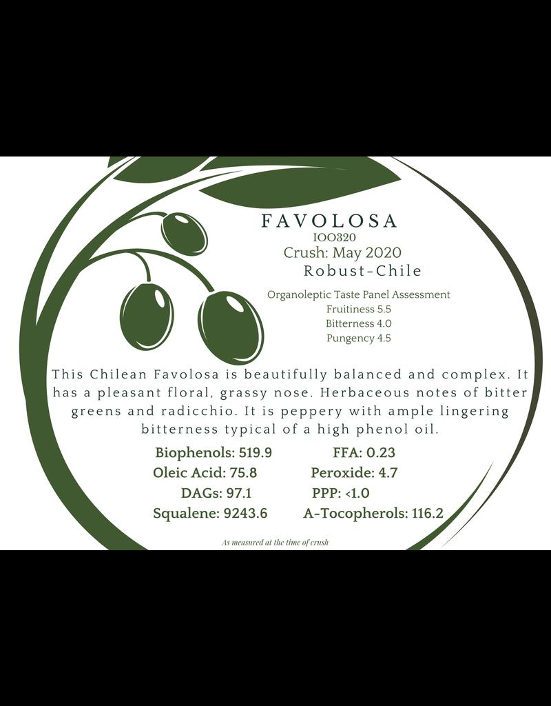 Southern Hemisphere Olive Oil Favolosa- Chile IOO320