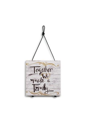 Expandable Trivet Together We Make a Family