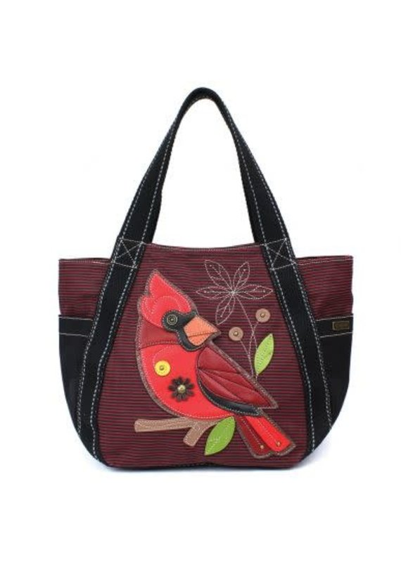 Chala Chala Carry All Zip Tote Cardinal