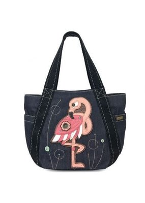 Chala Chala Carry All Zip Tote Flamingo