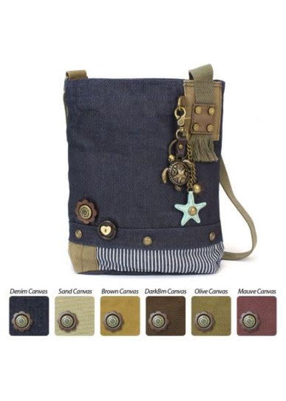 Chala Chala Patch X-Body Bag Denim