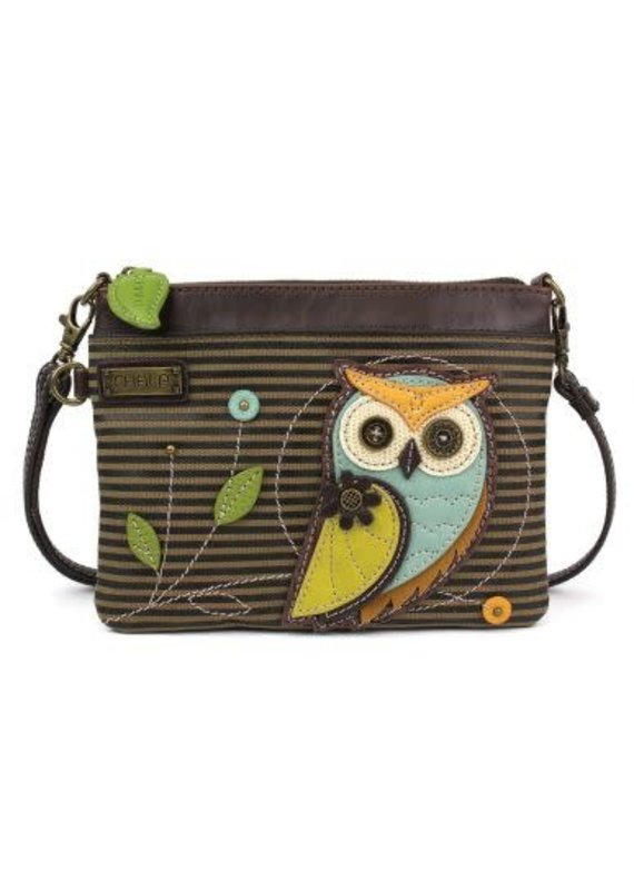 Chala Chala Mini Crossbody Owl Stripe