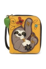 Chala Chala Zip-Around Wallet Sloth