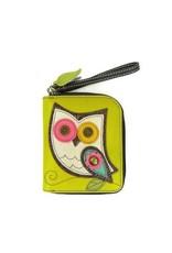 Chala Chala Zip-Around Wallet Owl Mustard