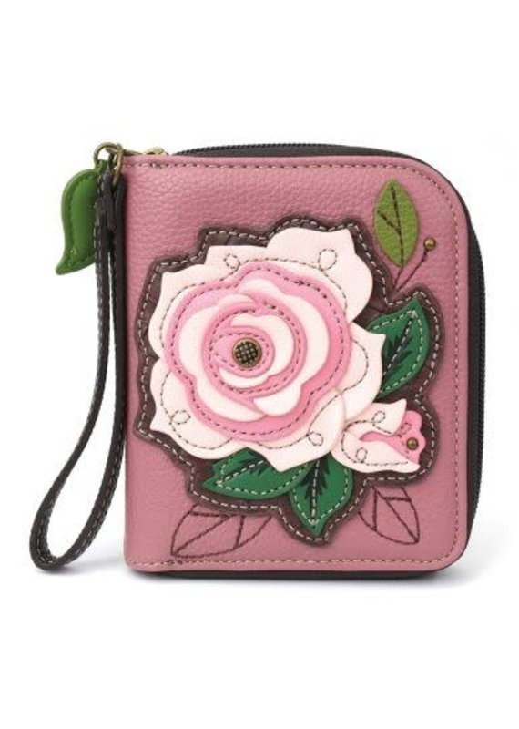 Chala Chala Zip-Around Wallet Rose