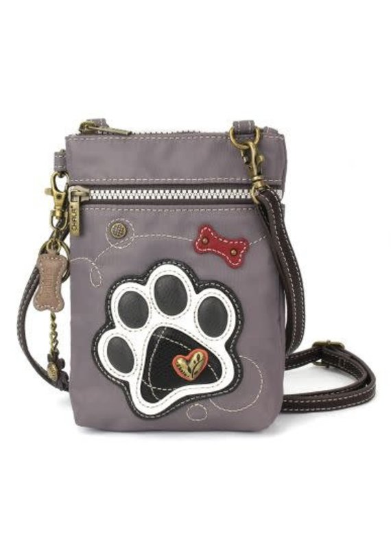 Chala Chala Cell Phone X-Body Paw Print Gray