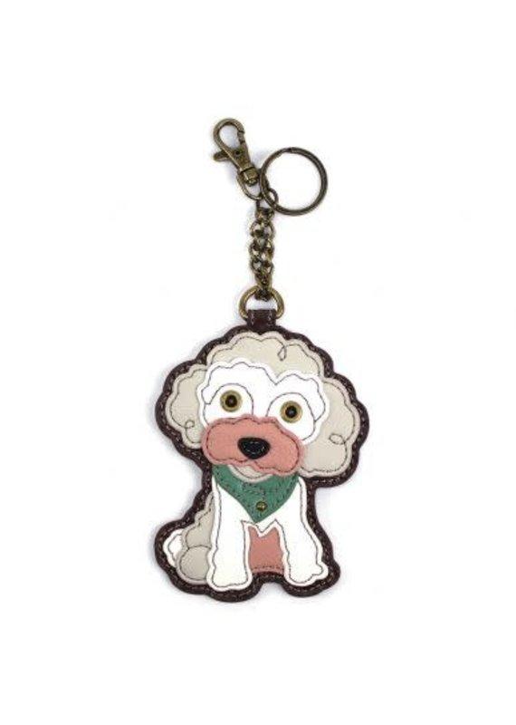 Chala Chala Pal Coin Purse Poodle