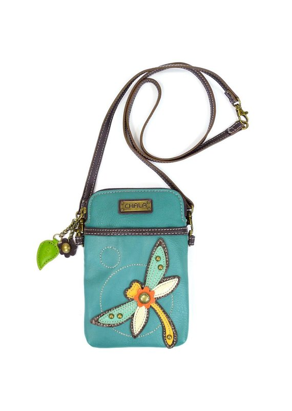Chala Chala Cell Phone X-Body Dragonfly Turquoise