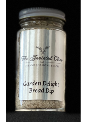 Bread Dip Garden Delight