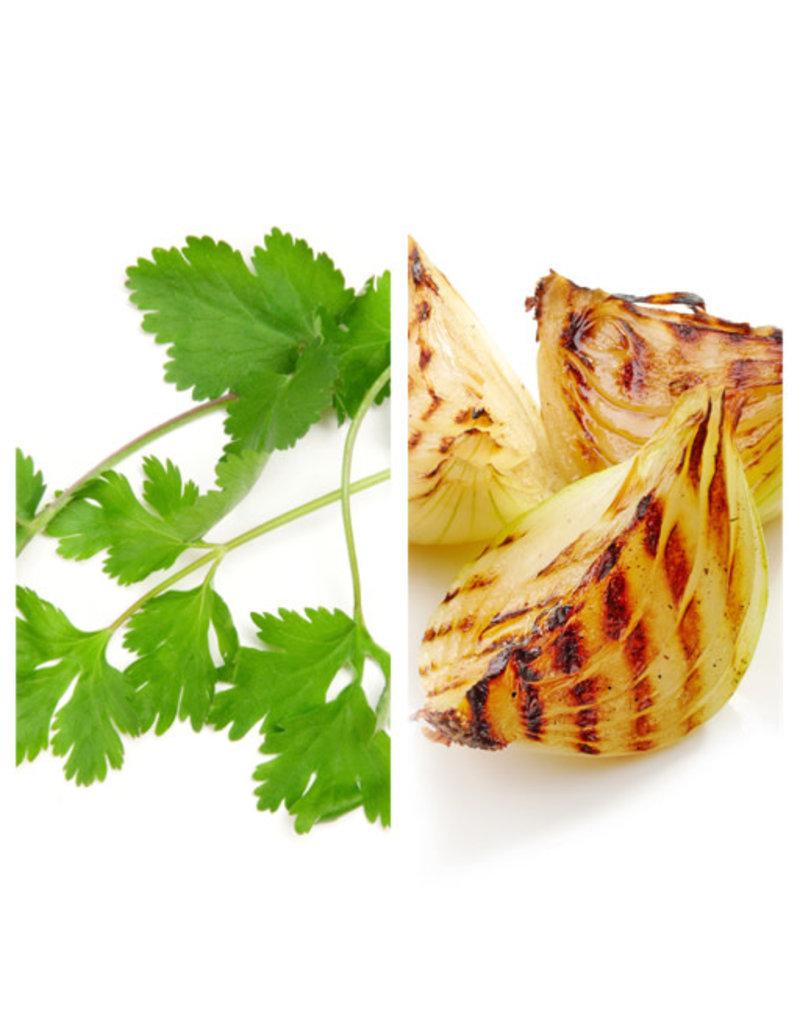 Infused Cilantro & Roasted Onion