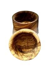 Natural Olive Wood Olive Wood Nut Bowl