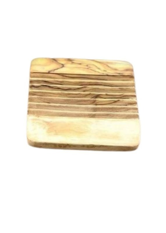 Natural Olive Wood Olive Wood Soap Dish