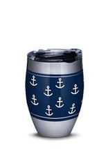 Tervis Tervis 12 oz Stainless Steel w/Lid Life Is Good- Navy Anchor Pattern