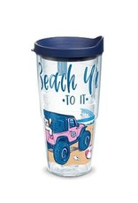 Tervis Tervis 24 oz Wrap Cup w/Lid SS Beach You to It
