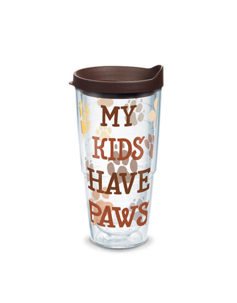 Tervis Tervis 24 oz Wrap Cup w/Lid My Kids Have Paws