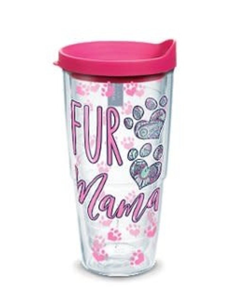 Tervis Tervis 24 oz Wrap Cup w/Lid SS- Fur Mama Bear
