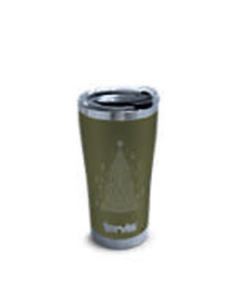 Tervis Tervis 20oz Stainless Steel w/ Hammer Lid Christmas Tree Engraved on Olive