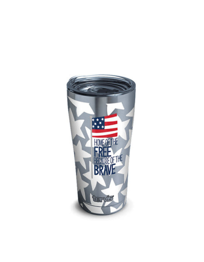Tervis Tervis 20oz Stainless Steel w/ Hammer Lid Coton Colors- Home of the Free