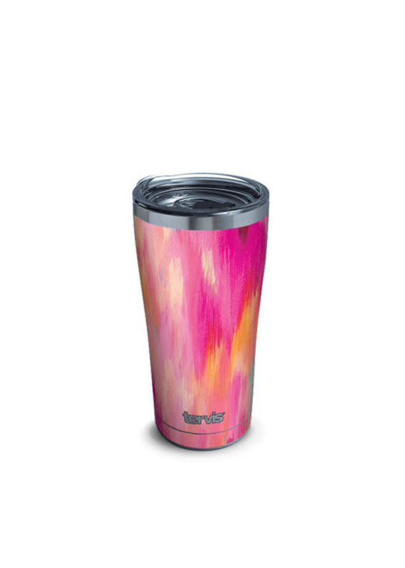 Tervis Tervis 20oz Stainless Steel w/ Hammer Lid Etta Vee- Pretty Pink