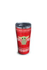 Tervis Tervis 20oz Stainless Steel w/ Hammer Lid Mandalorian- Holiday Sweater