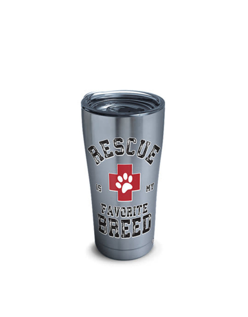 Tervis Tervis 20oz Stainless Steel w/ Hammer Lid Rescue Favorite Breed