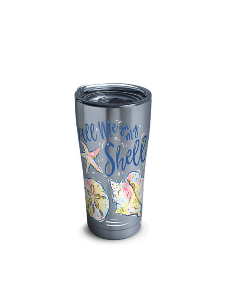Tervis Tervis 20oz Stainless Steel w/ Hammer Lid SS- Call Me Shell
