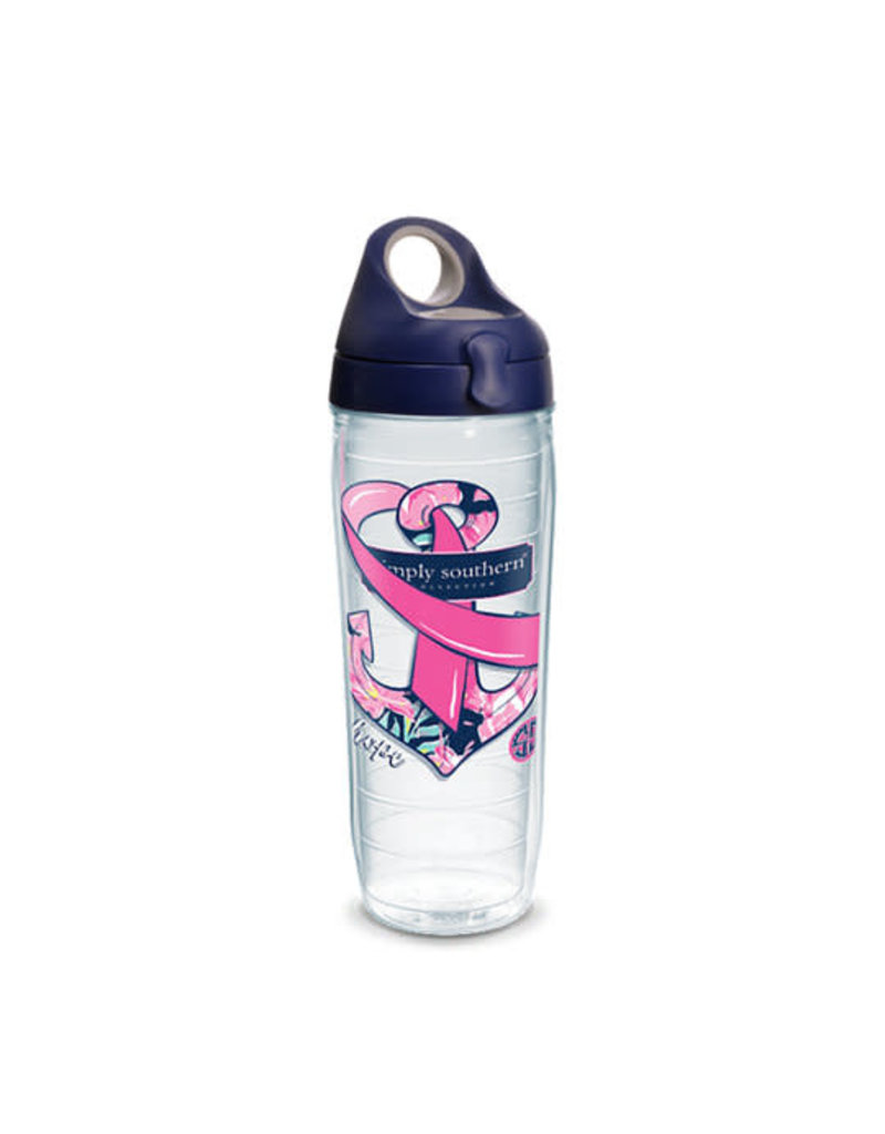 Tervis Tervis 24 oz Wrap Bottle SS- Breast Cancer Awareness