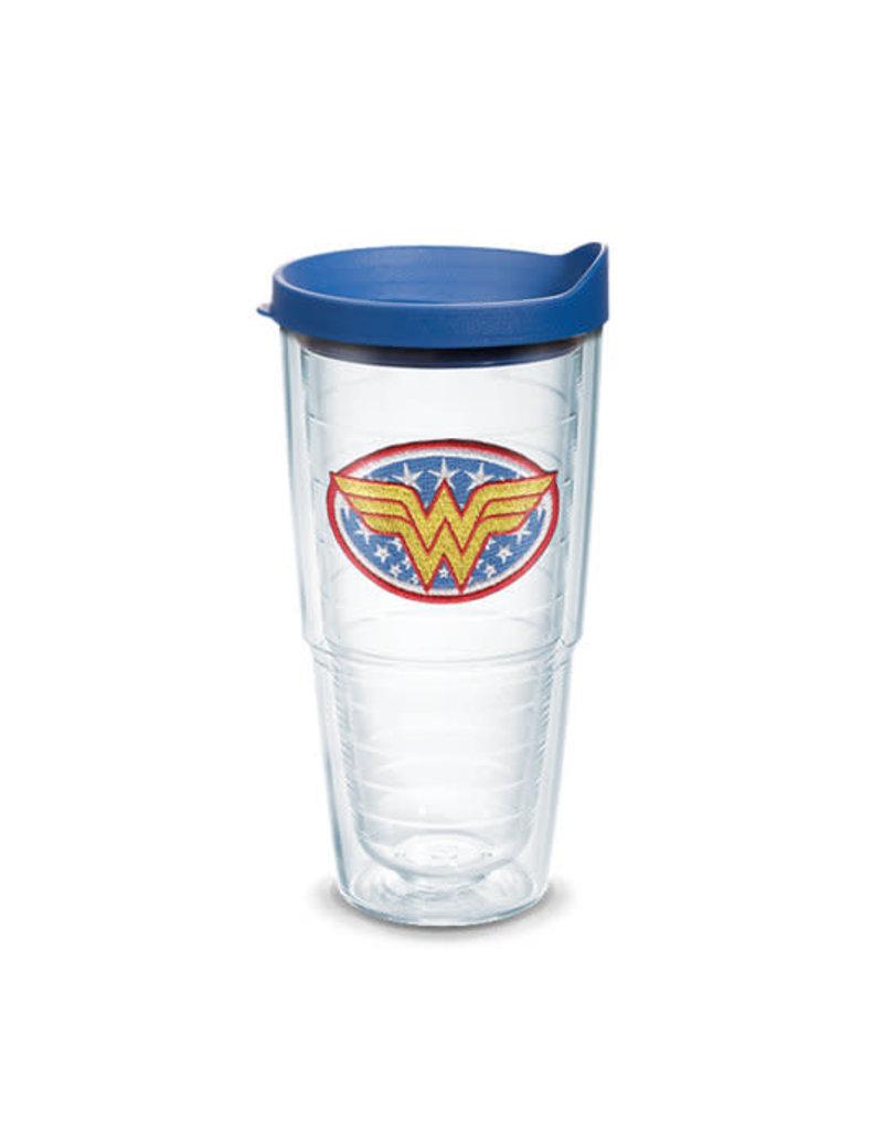 Tervis Tervis 24 oz Wrap Cup w/Lid DC Comics Wonder Woman Emblem