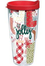 Tervis Tervis 16 oz Wrap w/Lid Coton Colors- Jolly Stockings