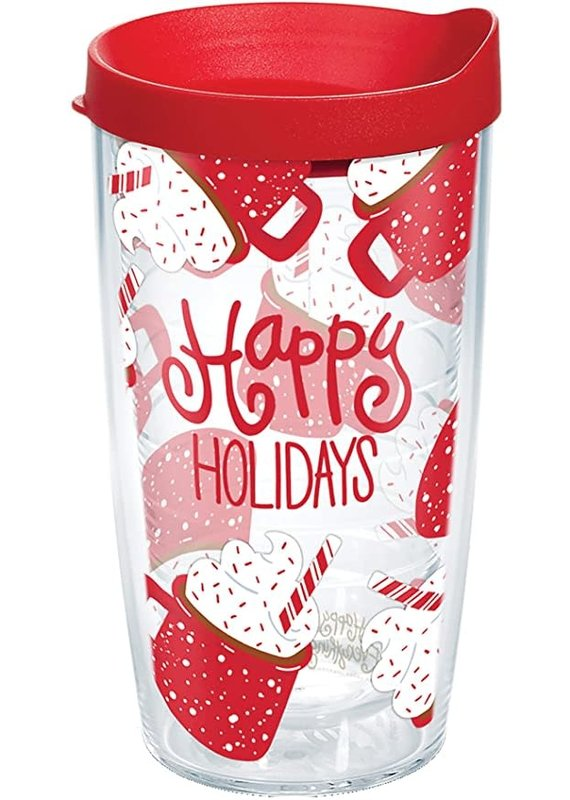 Tervis Tervis 16 oz Wrap w/Lid Happy Everything- hot Coco