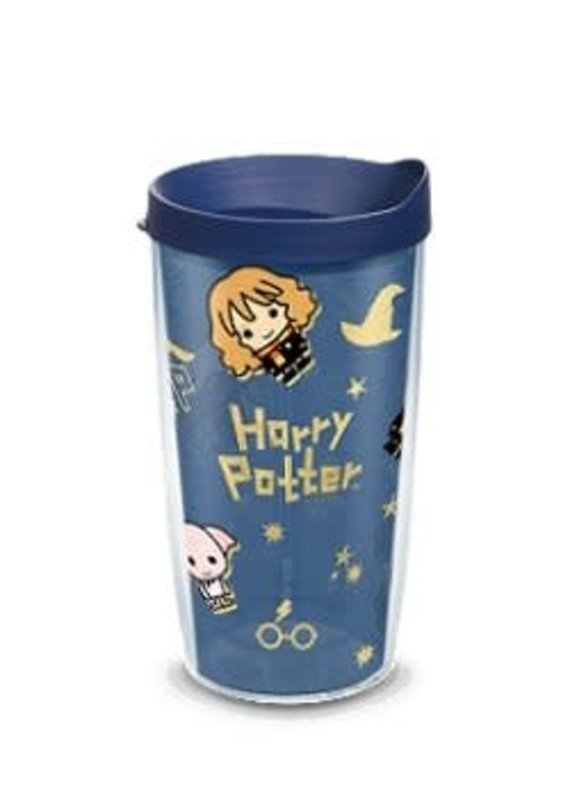 Tervis Tervis 16 oz Wrap w/Lid Harry Potter™ - Charm Icons