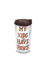 Tervis Tervis 16 oz Wrap w/Lid My Kids Have Paws