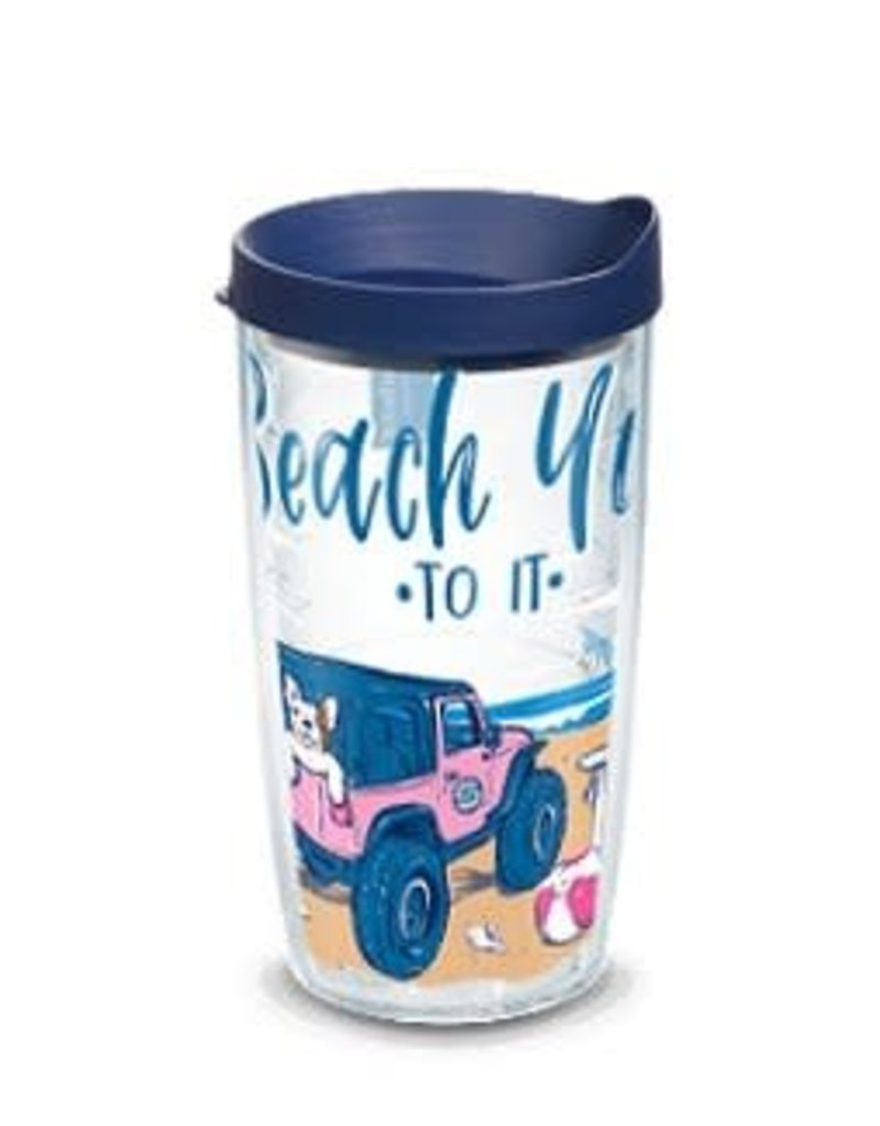 Tervis Tervis 16 oz Wrap w/Lid SS- Beach You to It
