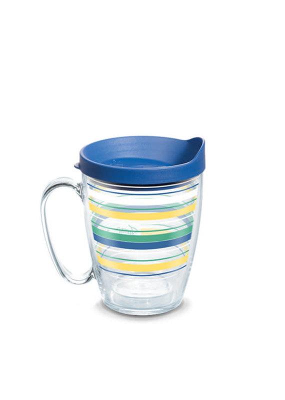 Tervis Tervis 16 oz Mug w/Lid Fiesta Meadow Stripes
