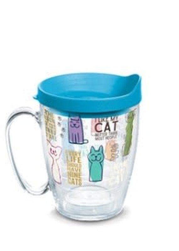Tervis Tervis 16 oz Mug w/Lid Cat Sayings