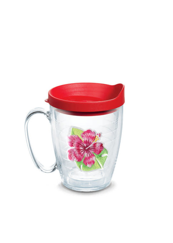 Tervis Tervis 16 oz Mug w/Lid Island Red Hibiscus