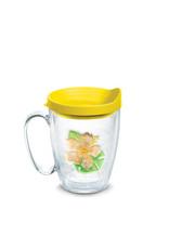 Tervis Tervis 16 oz Mug w/Lid Island Yellow Hibiscus
